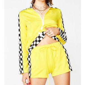 Yellow Checkered Set